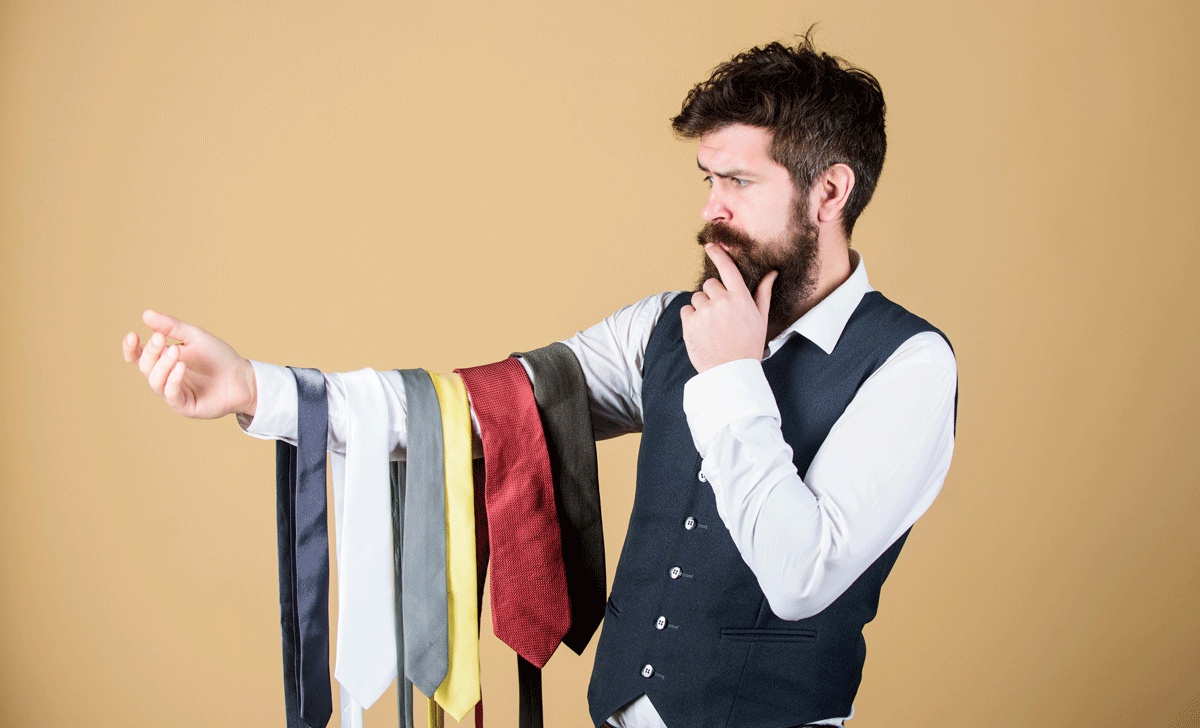 Scelta cravatta